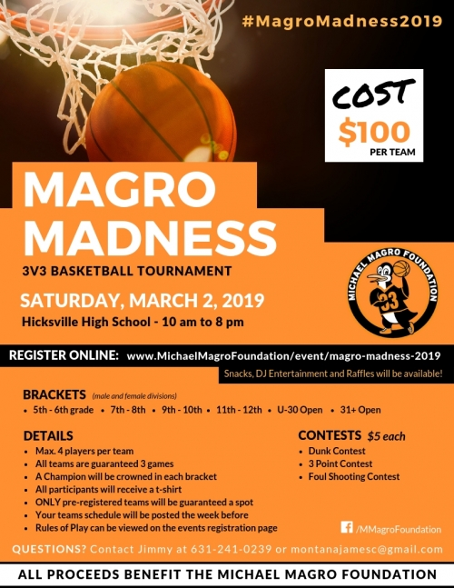 Margo Madness basketball tournament to help families with sick children