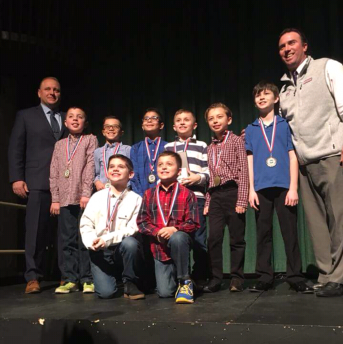 Congratulations to Coaches Cromwell and Barling and our 4th grade boys basketball team on winning CYO's most prestigiou
