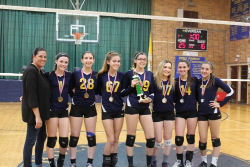 It's a FOUR-PEAT!  Girls Tyro Volleyball 'A' Division Win FOURTH   Nassau/Suffolk Championship in a row!